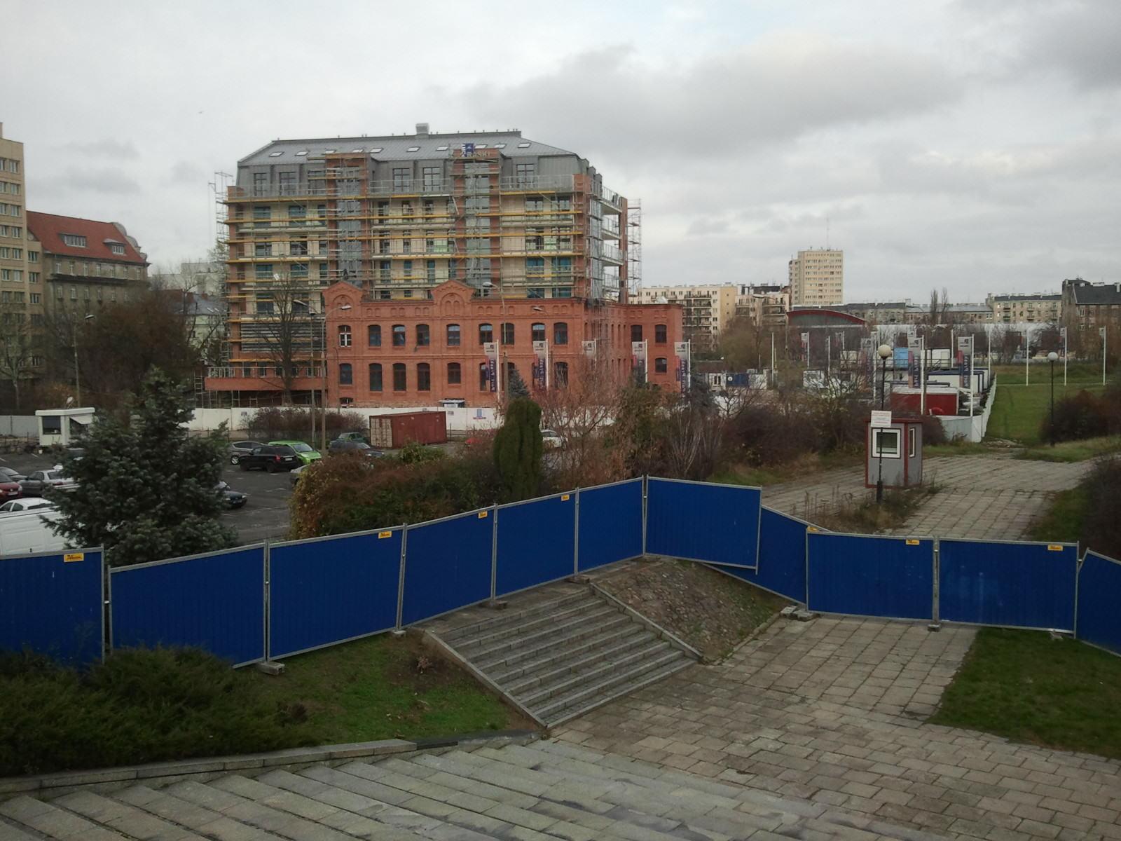 Nowa zabudowa przy ul. Okrzei