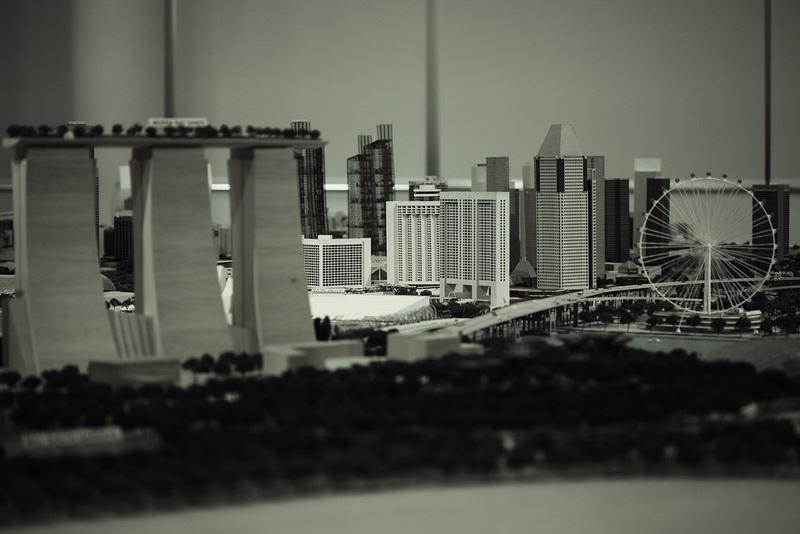 Model miasta.