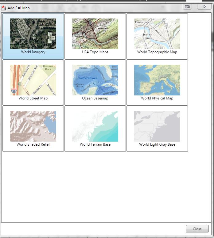Wybor map w programie
