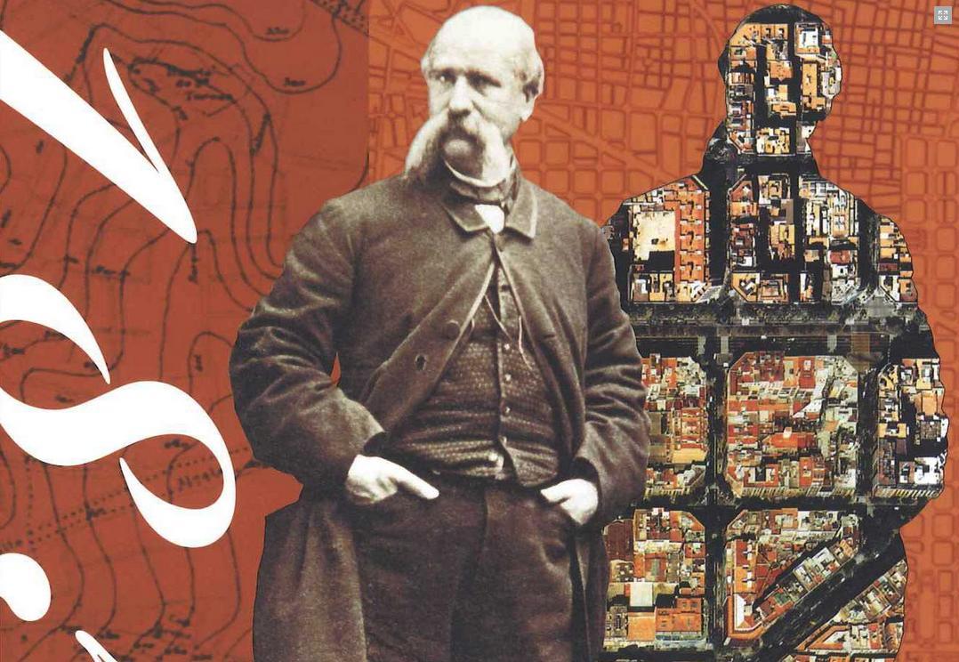 Ildefons Cerda, źródło: http://www.anycerda.org/web/activitats/viu-la-ciutat/presentacio-de-la-revista-1859-2009-el-ensanche-cerda