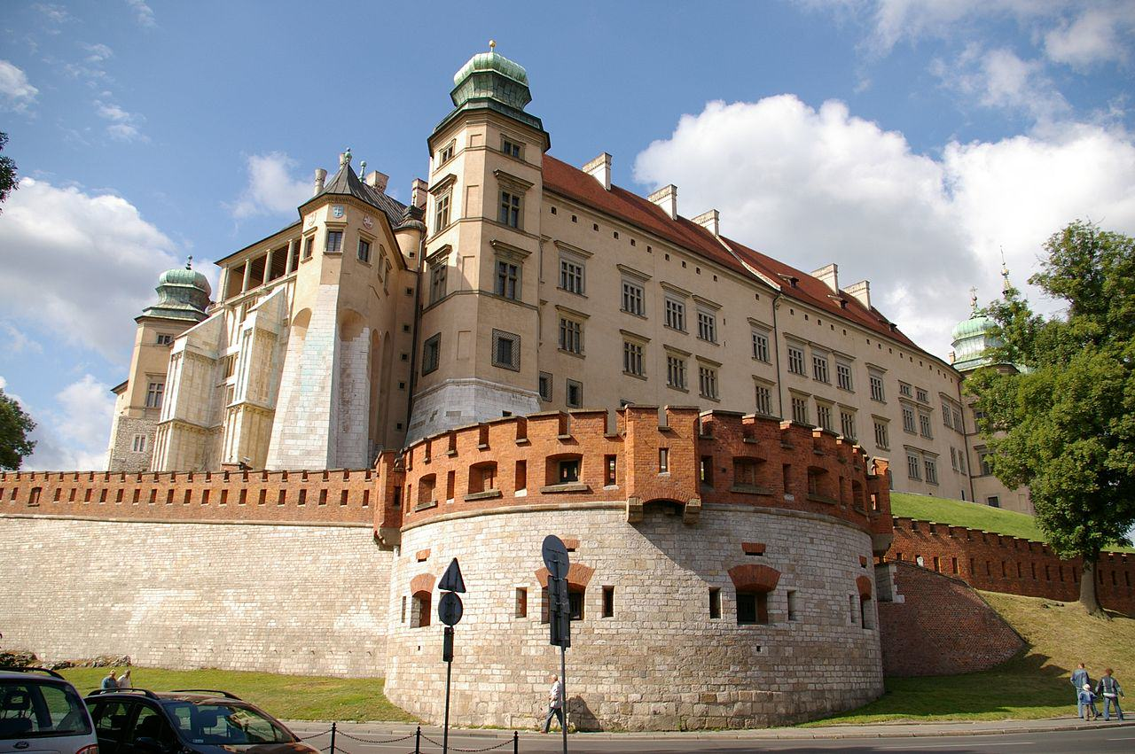 Krakowski Wawel / źródło: Wikipedia Commons – Jakub Hałun