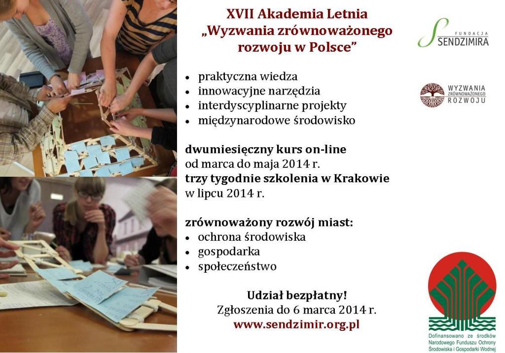 Zaproszenie,  źródło: www.sendzimir.org.pl