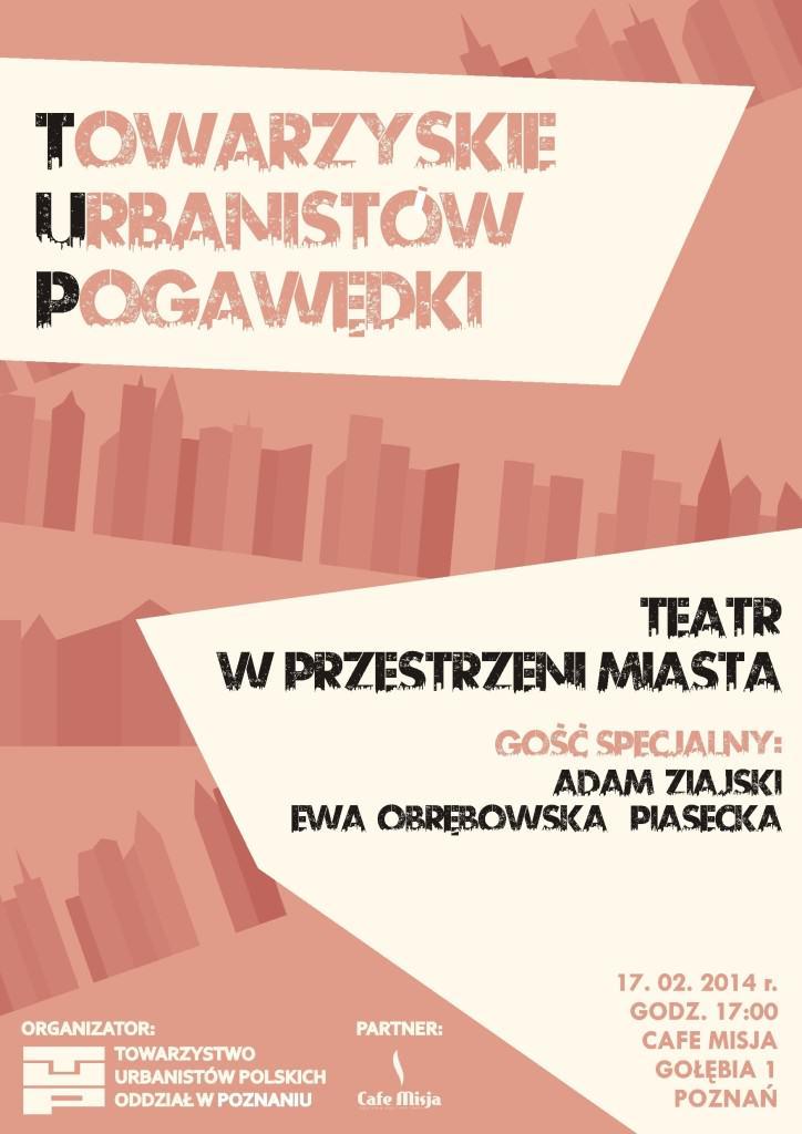 TUP - Teatr w mieście, źródło: materiały organizatorów