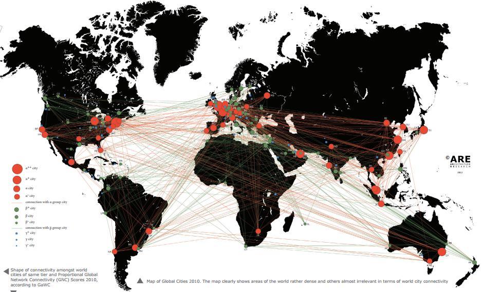 Alpa,beta,gamma, źródło: http://www.lboro.ac.uk/gawc/visual/globalcities2010.pdf