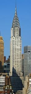 Chrysler Building z 1930 r. - najwyższe kondygnacje sukcesywnie się cofają /źródło: wikipedia.org