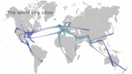Miasta Gamma (dane 2010r.), źródło: http://www.lboro.ac.uk/gawc/visual/globalcities2010.pdf