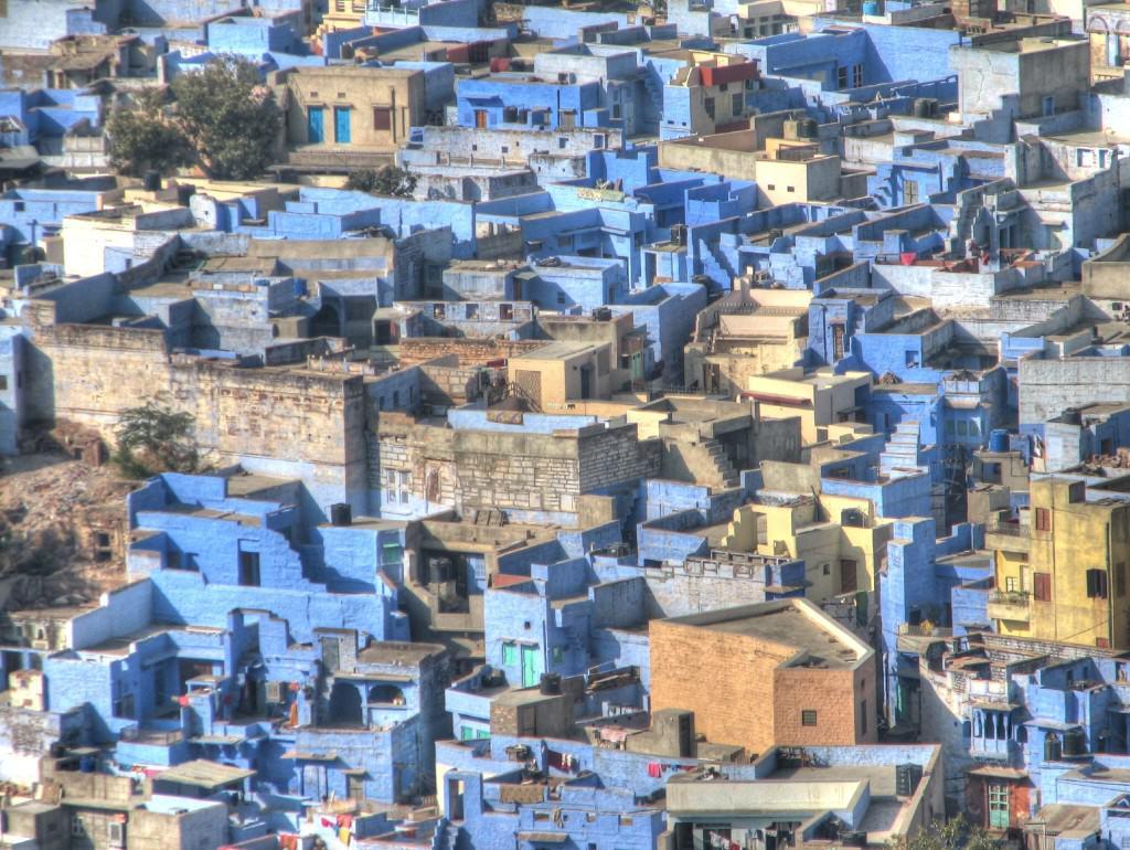 Jodhpur, źródło: http://commons.wikimedia.org/wiki/File:Jodhpur,_Blue_city_09_HDR_(2271779309).jpg