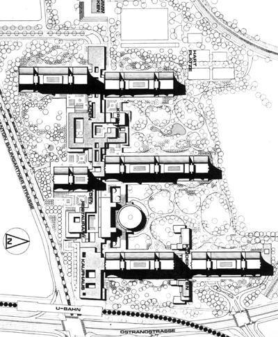 Plan osiedla / źródło: wikipedia commons
