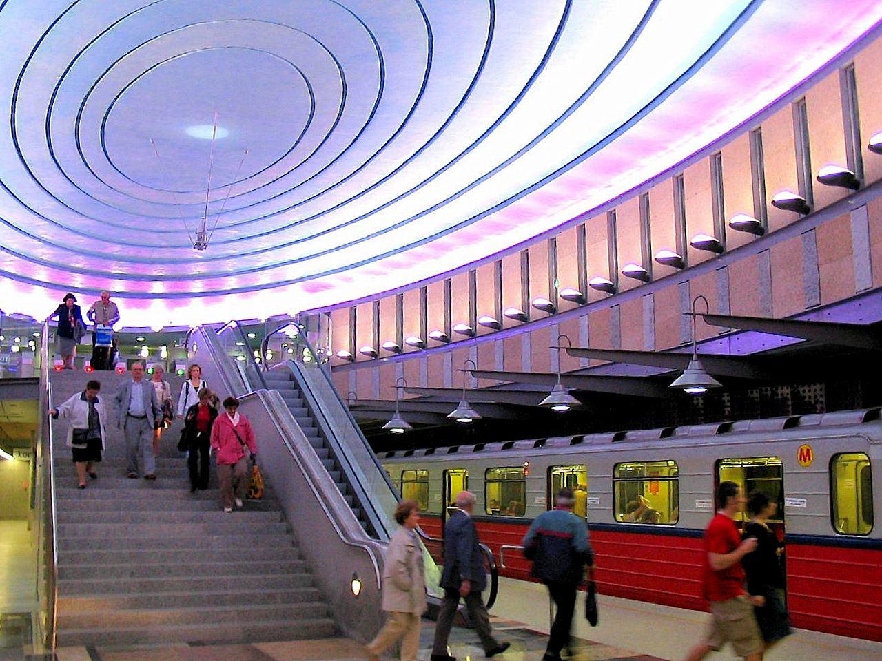Metro Warszawa Plac Wilsona