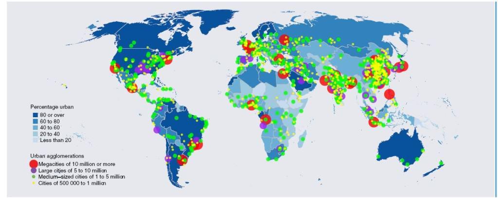 Miasta powyzej 500000 mieszkancow