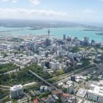 Auckland, źródło: http://en.wikipedia.org/wiki/Auckland_CBD#mediaviewer/File:Aerial_view_of_Auckland.jpg