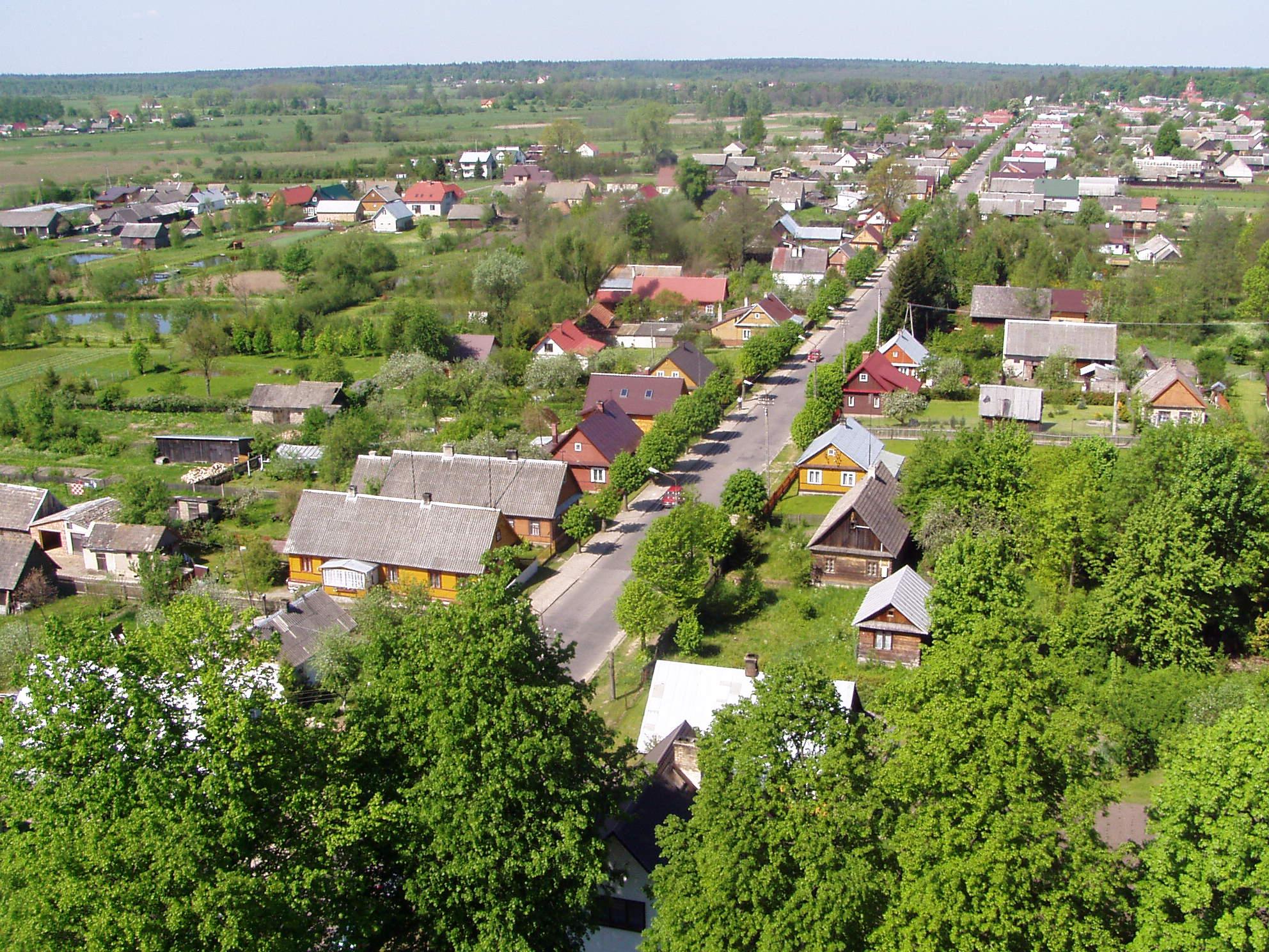 Białowieża, źródło: Wikimedia Commons