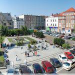 Plac Magistracki 2012 rok, źródło: http://dolny-slask.org.pl/983310,foto.html