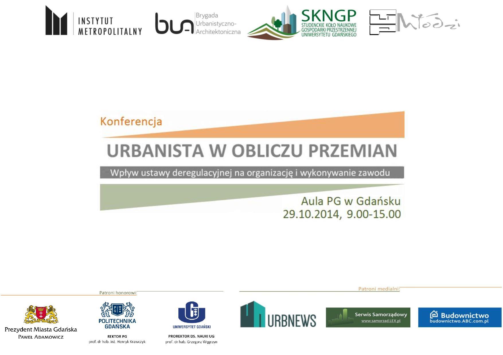Plakat konferencyjny