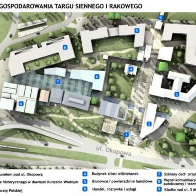 Koncepcja Forum Radunia z roku 2011 mat. prasowe