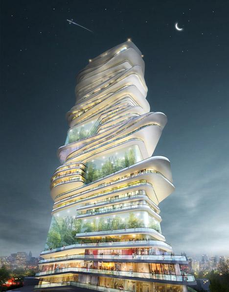 Wieżowiec 1