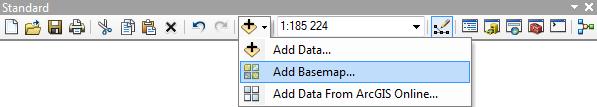 Rys. 6. Opcja Add Basemap.