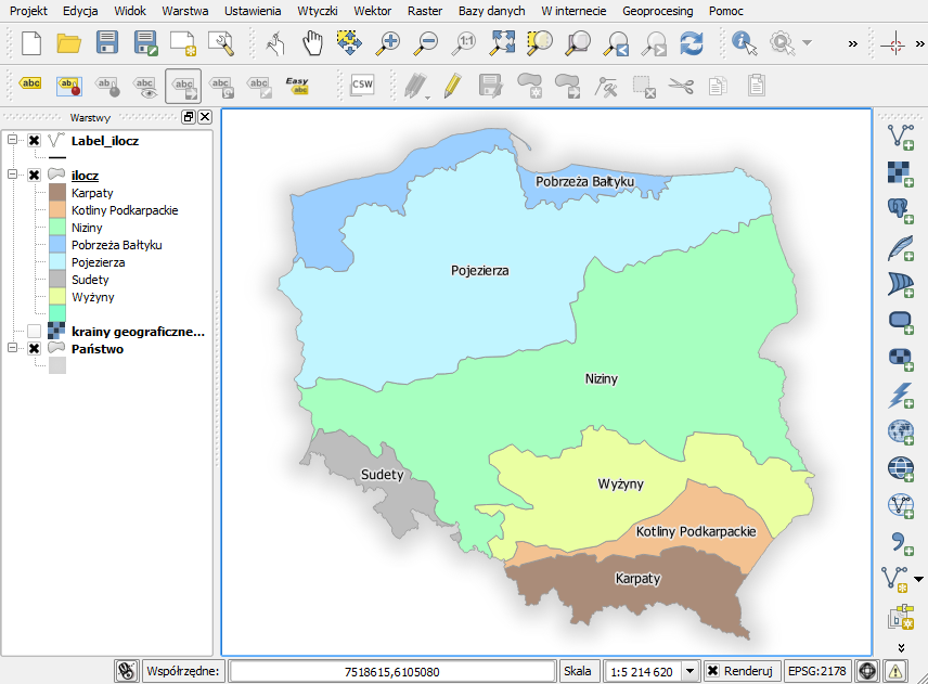 mapa qgis
