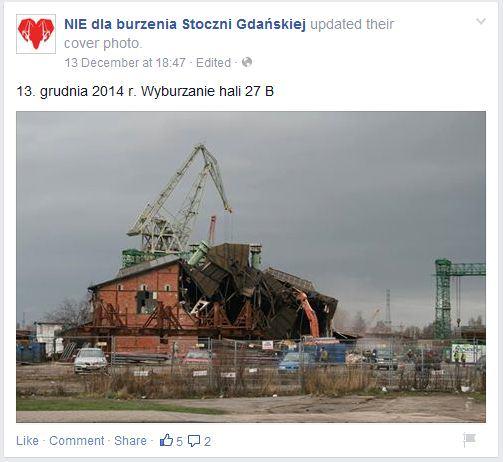 Gdansk dzwignij stocznie 2