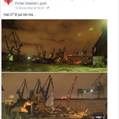 Gdansk dzwignij stocznie