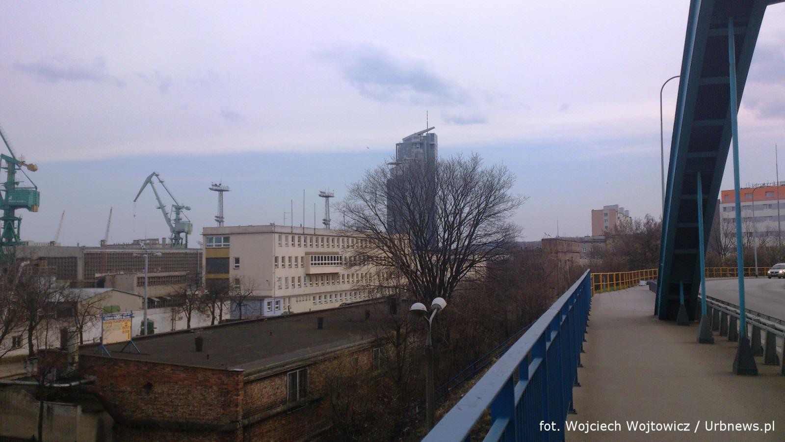 Stocznia Nauta w Gdyni. fot. W. Wojtowicz