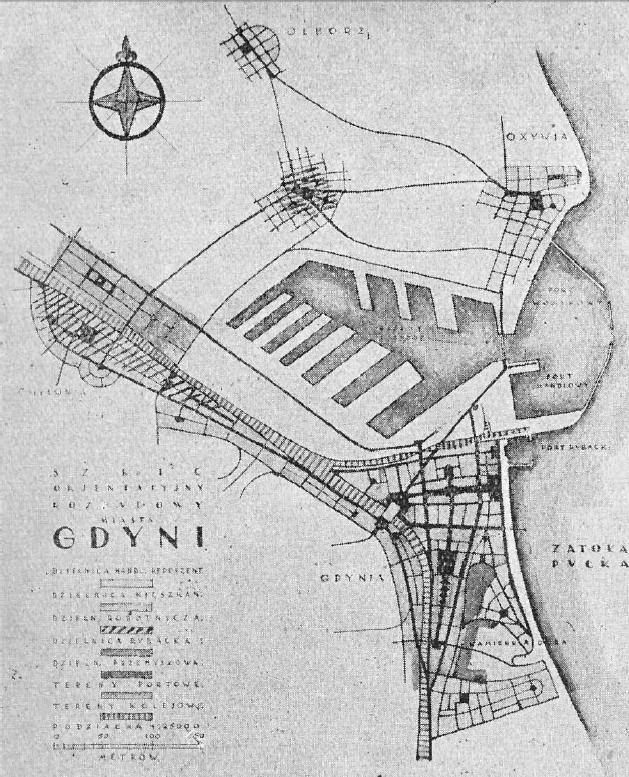 Gdynia plan urbanistyczny 1