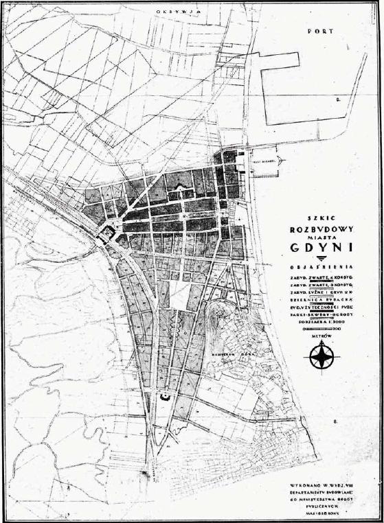 Gdynia plan urbanistyczny 2