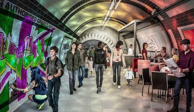Podziemne tunele Londynu