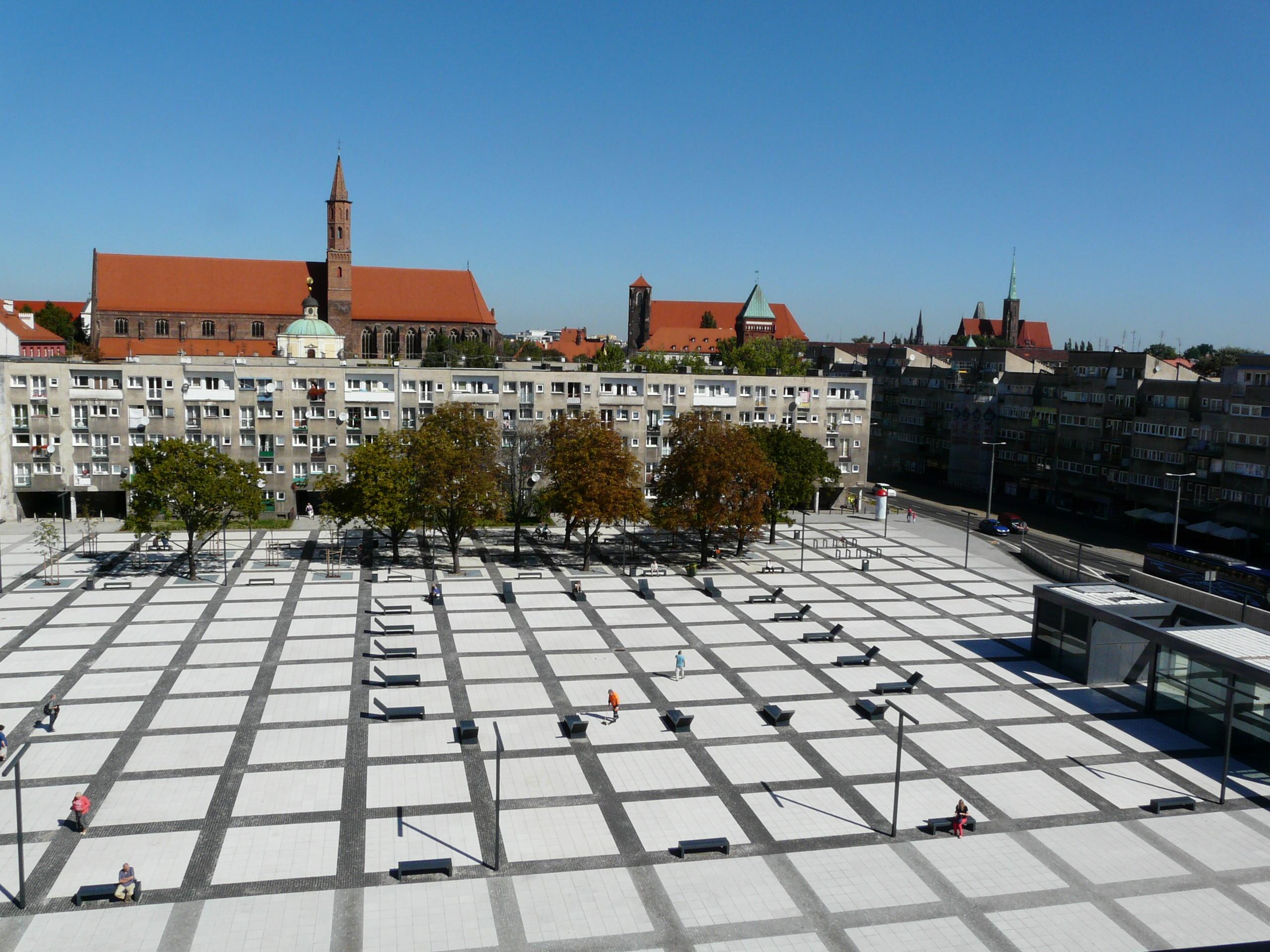 Plac Nowy Targ we Wrocławiu. Źródło: www.wroclaw.pl
