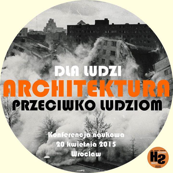 Architektura dla ludzi przeciw ludziom logo