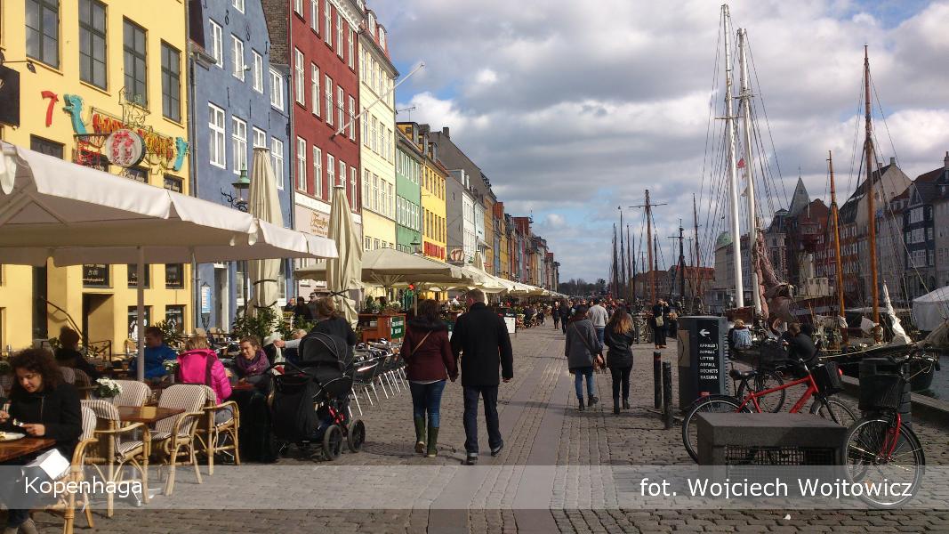 Kopenhaga Nyhavn autor Wojciech Wojtowicz