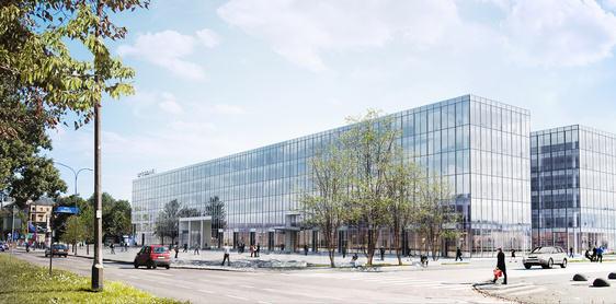 Propozycja zagospodarowania terenów po hotelu Cracovia / Echo Investment