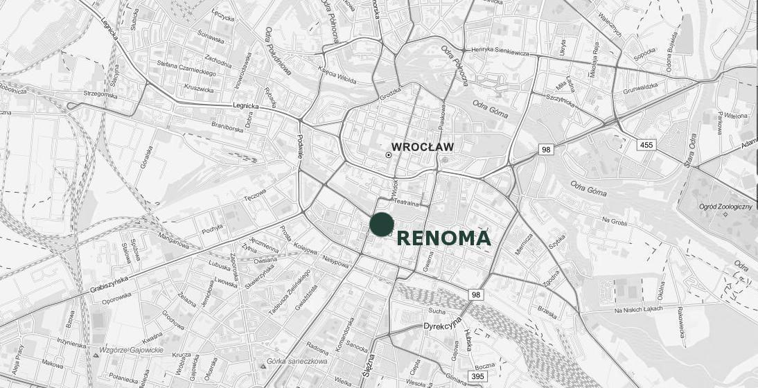 Wroclaw RENOMA lokalizacja