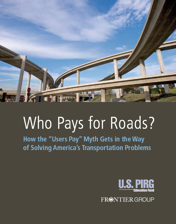 Who Pays For Roads