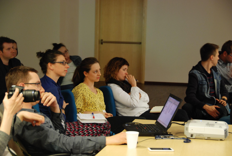 Fina+éowe prezentacje, Jury Strefa Startup PPNT  fot. Agata Bonis+éawska