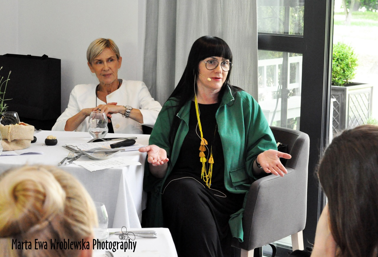 Małgorzata Marczewska i Jolanta Półtoranos_atelier Amaro_event Park Avenue Apartments_Foto Marta Ewa Wróblewska
