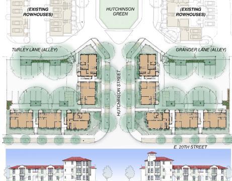 Kwartał zabudowy mieszkaniowej wielorodzinnej, źródło: http://www.andersonkim.com/