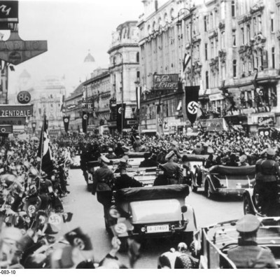 1938 Anschluss Österreich, Wien