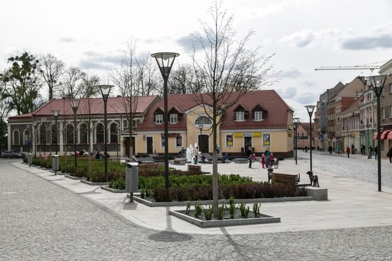 Rynek na Psim Polu; fot. Tomasz Walków; źródło: UM Wrocław