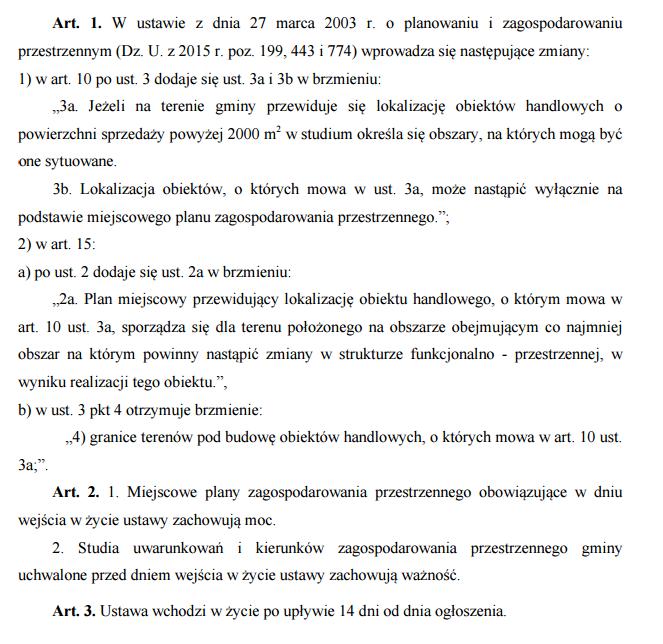 Ustawa nowelizacja wrzesien