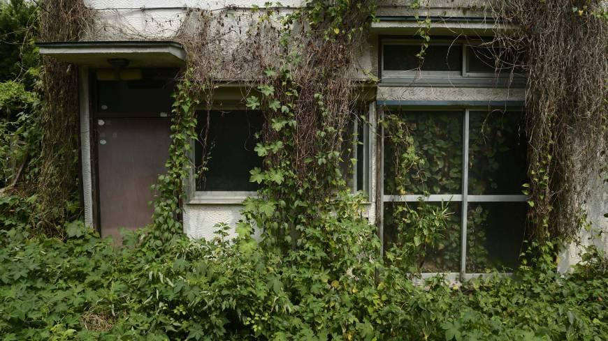 Opuszczony dom w Yokosuce
