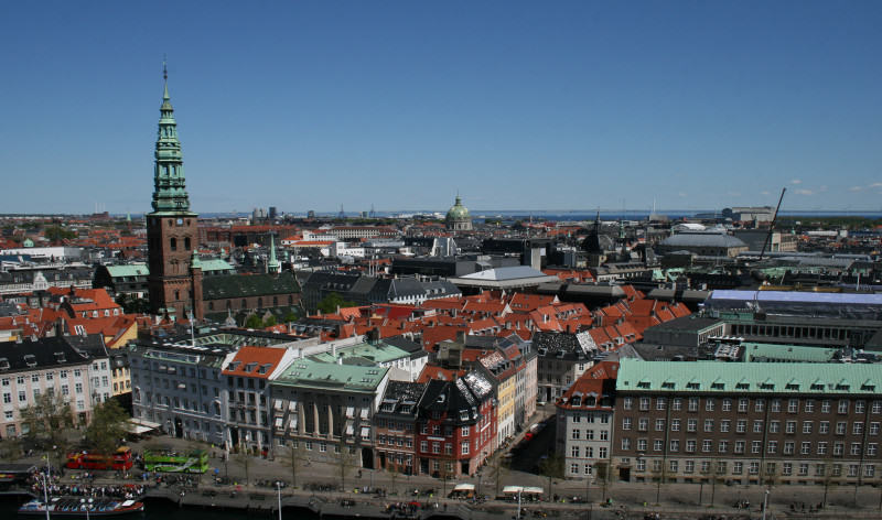 Panorama Kopenhagi; fot. Kamil Suchożebski
