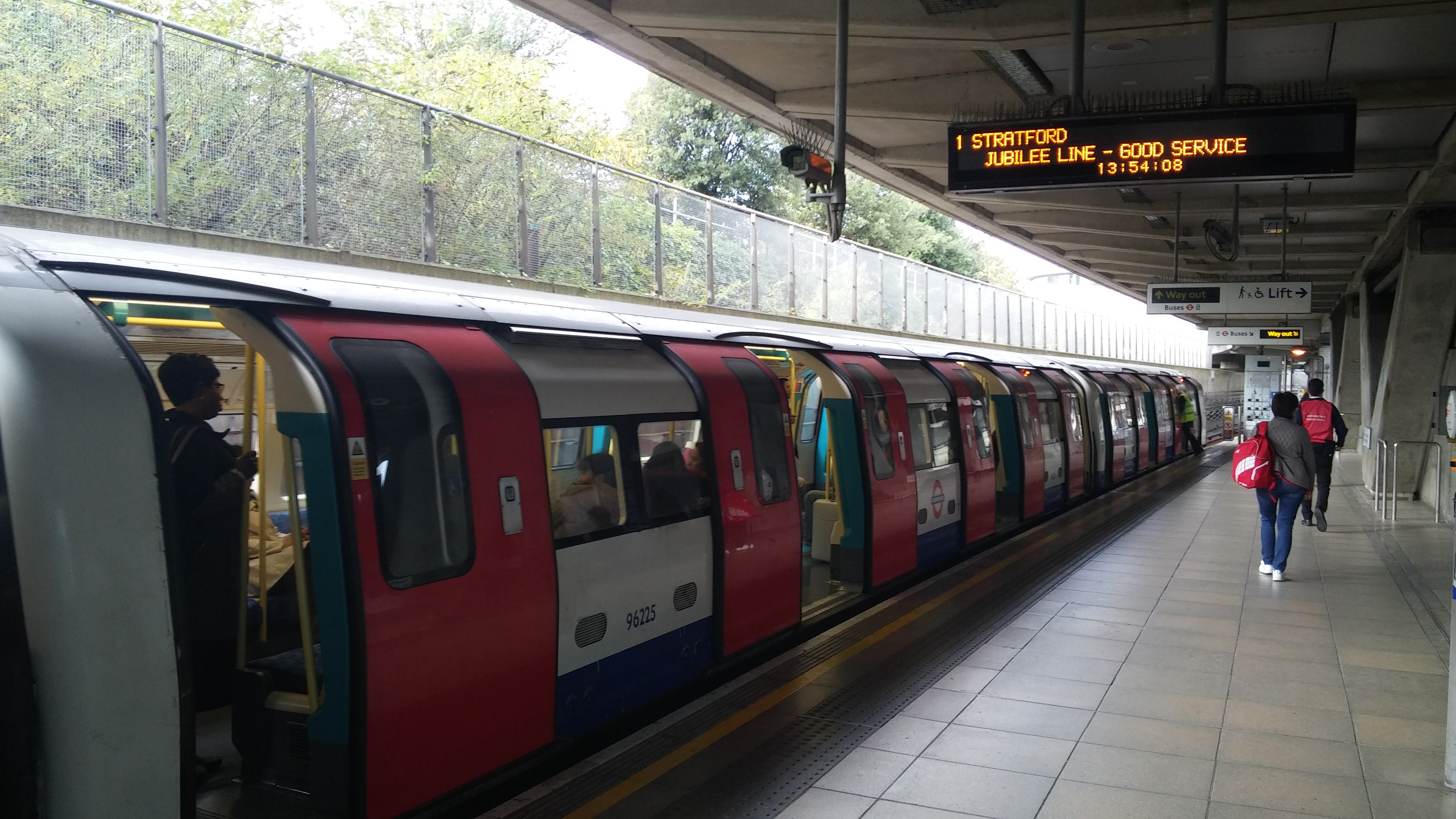 London Canning Town metro Jubilee