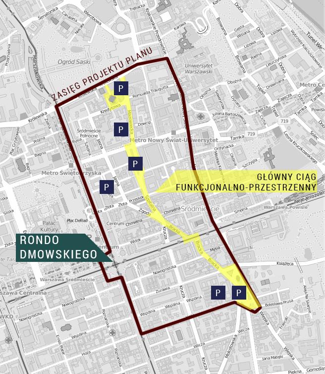 Warszawa plan