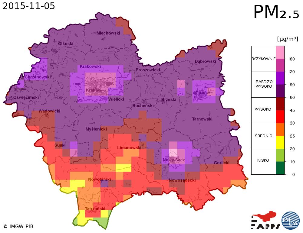 map malopolska