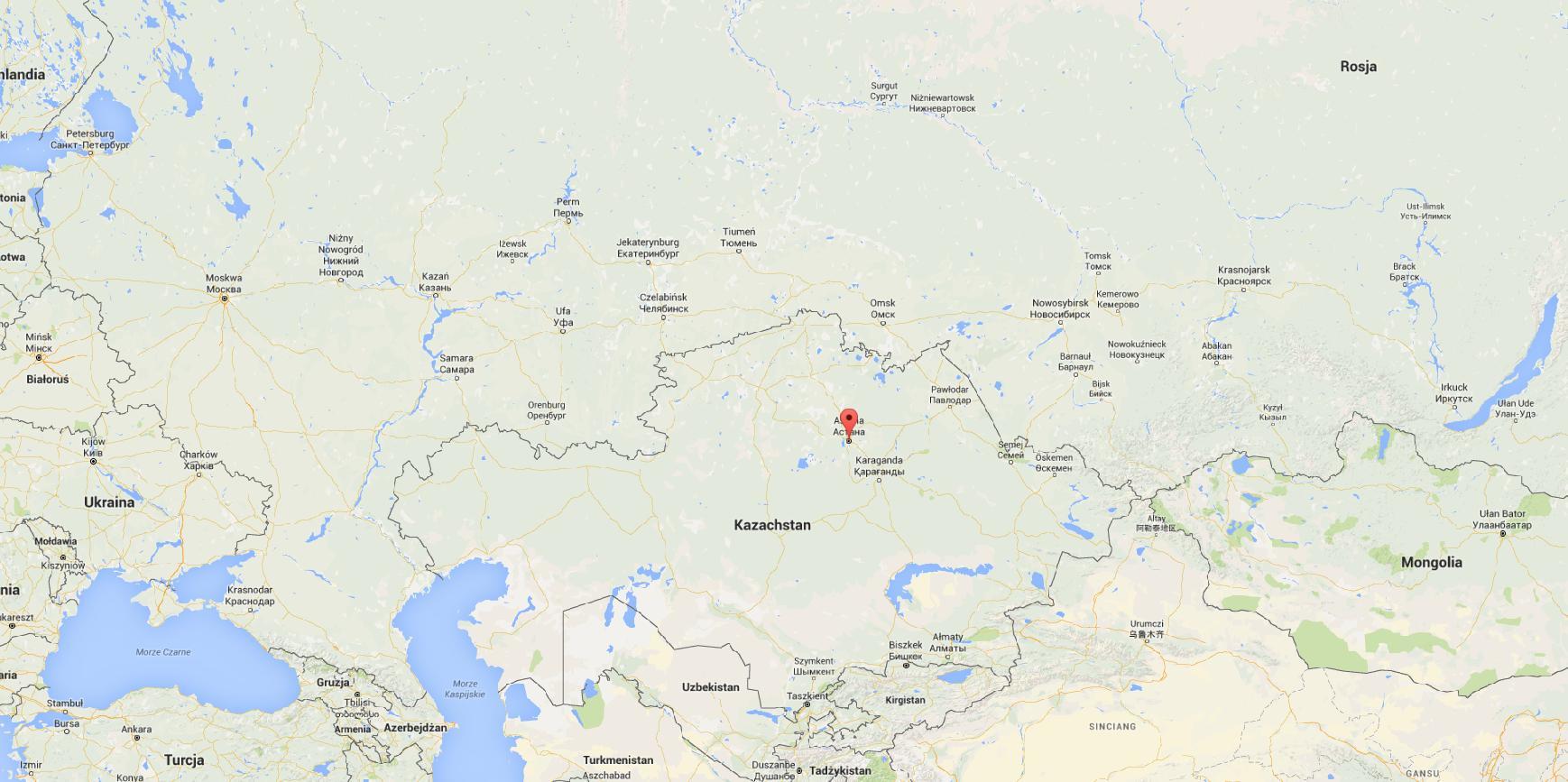 Astana lokalizacja
