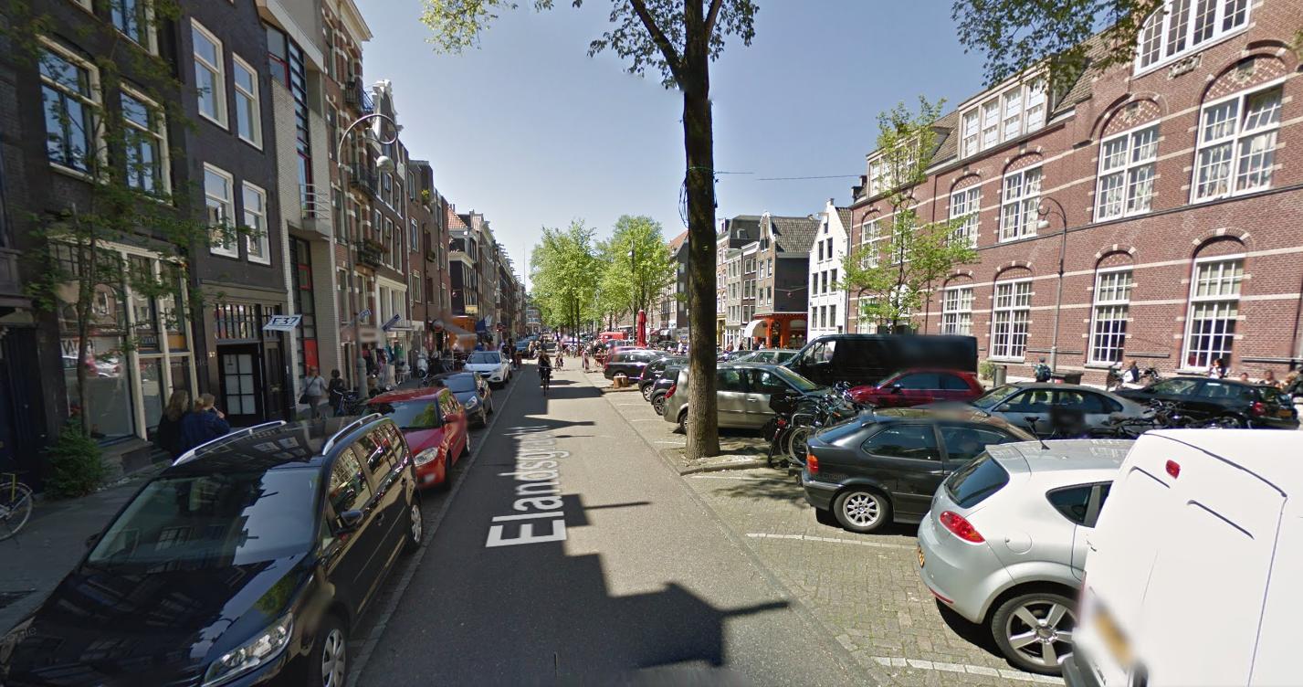Elandsgracht dziś; fot. Google Street View