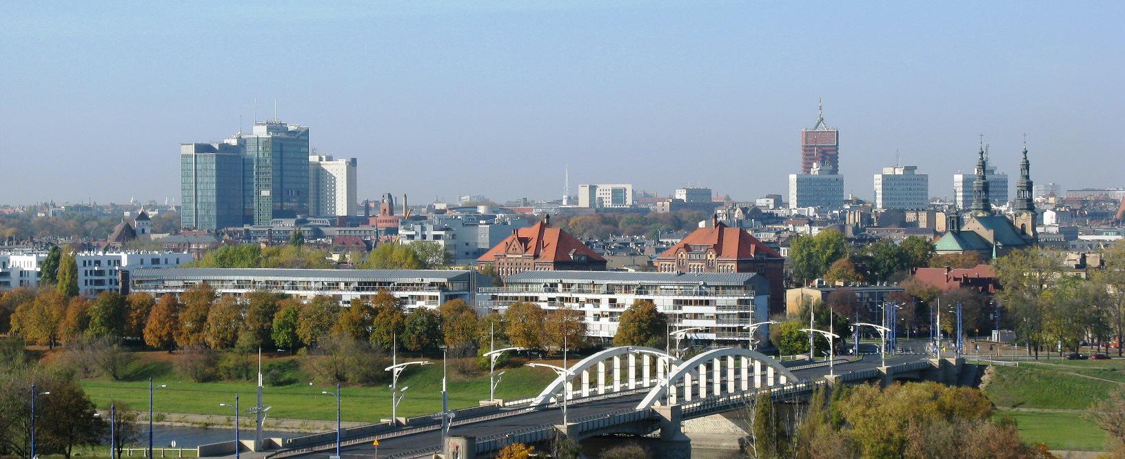 Poznan centrum