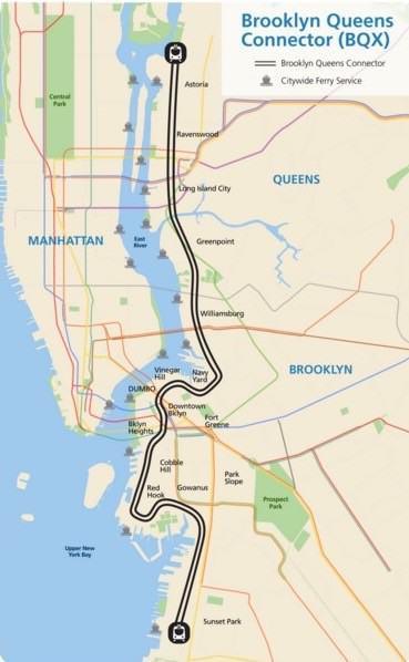 Nowy Jork tramwaj