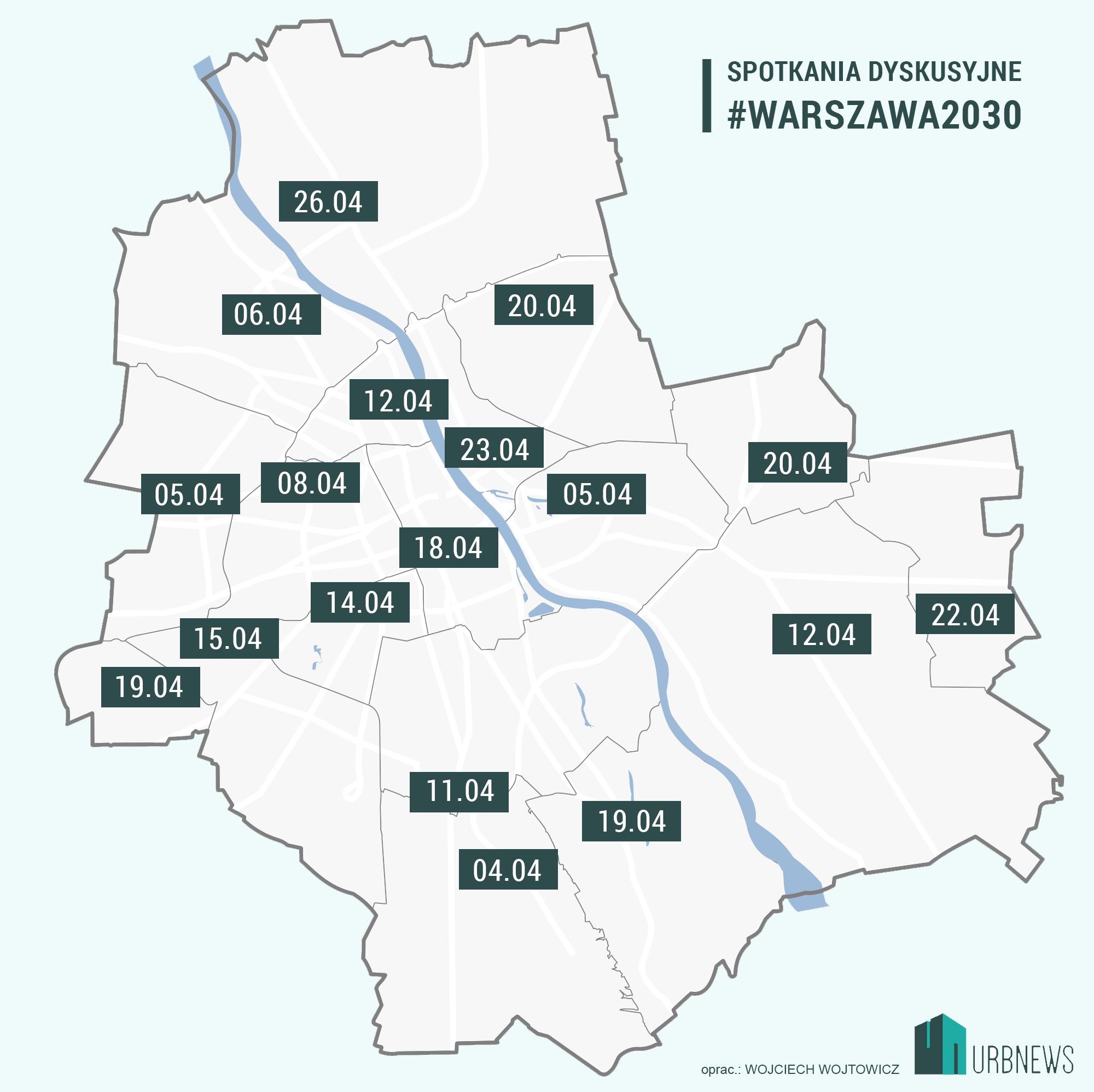 Warszawa konsultacje